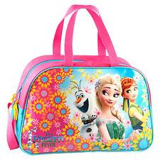Disney Frozen Fever Gym Bag Duffle Sports Swim Shoes PE Dance Travel Girls