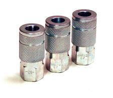 "Three Amflo C2 Couplers - 3 C-2 Couplers with Female 1/4"" Pipe Thread - One Band"