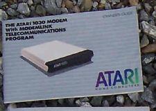 1030 Modem Owners Manual 800/XL/XE Atari
