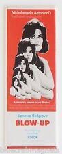 Blow Up FRIDGE MAGNET (1.5 x 4.5 inches) insert movie poster antonioni redgrave