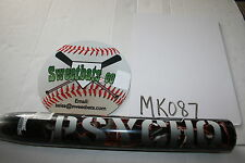 New Miken Psycho 2011 Balanced Balance 34 29 MSPFU HOT softball bat 100mph +