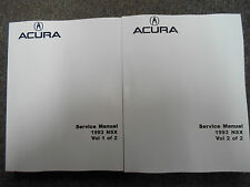 1993 Acura NSX Service Shop Repair Manual SET FACTORY N S X DEALERSHIP NEW 93