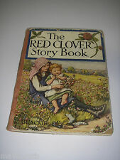 The Red Clover Story BOOK Illustrated Cicely Mary Baker Children's Faries Tales