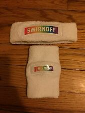 New Rainbow gay lesbian Pride Wristband  And Headband Smirnoff Set Look