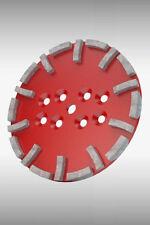 Original BLASTRAC - DIAMAG Premium Diamantschleifscheibe 250mm rot Disc red
