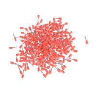 1000 Pcs AWG 22 Wire Copper Crimp Insulated Pin End Ferrules Terminal DSUK