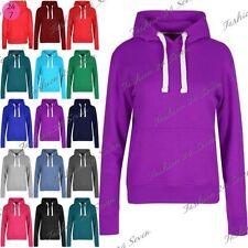 Polyester Hooded Fleece Tops Hoodies & Sweats for Women