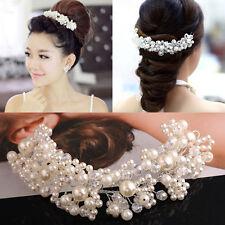 Nouveau Imitation Perle Bijou de cheveux Mariage Mariée Accessoires pour cheveux