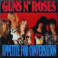 GUNS N' ROSES / APPETITE FOR CONVERSATION - INTERVIEW - BLUE COLOURED VINYL LP