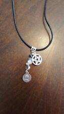 2018 Pentagram Luck Prosperity Necklace Money Love Peace Balance Wicca PAGAN #11