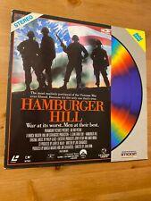 Hamburger Hill 1987 Laserdisc Most Real Vietnam War Ever Filmed *Good Condition*