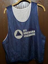 Warrior Blue All American Lacrosse Jersey Man S/M
