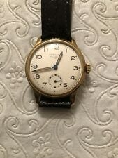 Vintage From 30's 18k Solid Yellow Gold Unisex Longines Watch