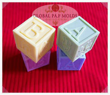 Sugarcraft Molds Polymer Clay Molds Cake Decorating Tools /baby block mold 046