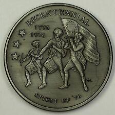 1976 C&D Batteries 70th Anniversary/U.S. Bicentennial Pewter Medal 4.9 Ounces