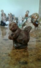 COLLECTABLE VINTAGE WADE WHIMSIE NUTTY SQUIRREL FIGURINE OTHER FIGURES AVAILABLE