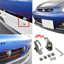 Car Angle Bumper License Plate Relocator Bracket Holder Mount Support Universal