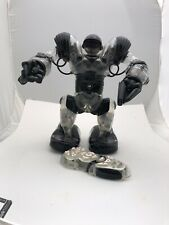 2004 WoWee Robosapien Humanoid With Remote Clear And Black 14""