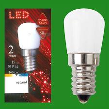 4x 2W (=15W) LED Pygmy 6500K Filament Appliance SES E14 Edison Screw Light Bulb