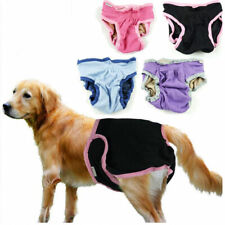 Washable Dog Diaper Female Dog Breeds Pet Pant Sanitary Underwear XS-XL 5 Size