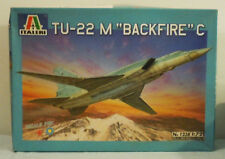 "NEW Italeri TU-22 M ""Backfire"" C 1:72 Russian Bomber Plastic Airplane Model Kit"