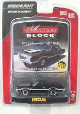 GREENLIGHT AUCTION BLOCK  SERIES 14 1970 OLDSMOBILE CUTLASS 442 W-30 CONVERTIBLE