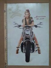 2 Marisa Miller American Bombshell Harley Davidson Salutes the Military Posters