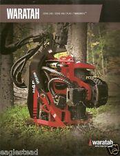 Equipment Brochure - Waratah - Harvesting Head Logging - French - c2009 (E2094)