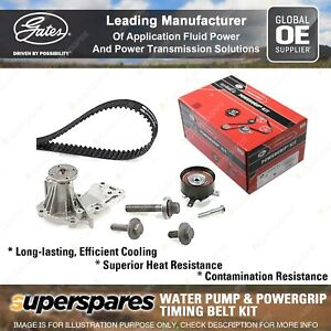Gates Water Pump & Timing Belt Kit for Ford C-Max Fiesta Focus Fusion Mondeo