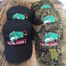 WHOLESALE Lot 5X Assorted GOT A FISH outdoor Baseball Caps Adult Men HT403 MIX5.