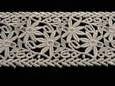 """Venise Lace in White Rayon - 3"""" Wide - 10 yds for $25.99"""