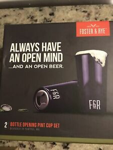 Foster and Rye  Steel  opener pint cup