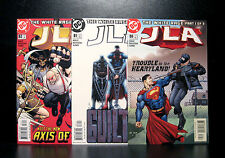 COMICS: DC: JLA #80-82 (2003) set - RARE (batman/flash/justice league)