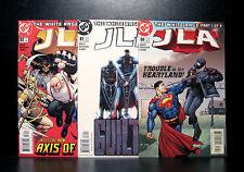 COMICS: DC: JLA #80-82 (2003) set - RARE (figure/batman/flash/justice league)