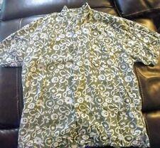 Vintage Bugle Boy Original Short Sleeve Button Down Shirt Hawaiian Men's Sz XXL
