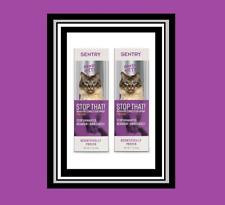Sentry Stop That ! Behavior Correction Spray for Cats 1 oz X 2 Boxes