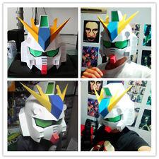 1:1 Scale RX 93-V Gundam Helmet Wearable Paper Model Cosplay DIY Handcraft