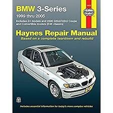 Haynes Repair Manual BMW 3-Series & Z4 1999-2005 WORKSHOP SERVICE BOOK NEW