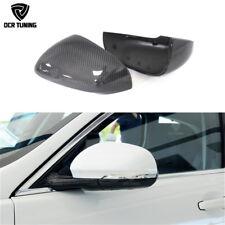 1:1 Replacement For Jaguar XK XF XJ XKR XE Carbon Fiber Mirror Cover 2011 - 2015