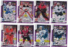 17/18 O-Pee-Chee Platinum Violet Pixels #133 Mike Smith Flames