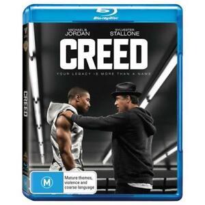 CREED New Blu-Ray MICHAEL B JORDAN SYLVESTER STALLONE ***