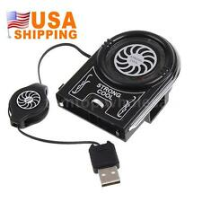 USB Air Extracting Cooling Fan Cooler for Laptop Accessories cool pad US Seller
