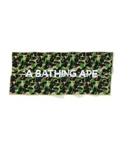 2020 New A Bathing Ape ABC CAMO SPORT TOWEL Green Auth fr BAPE Japan New