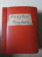 HESSTON FIAT TRATTORI 780 - 780 DT PARTS DEALERS MANUAL CATALOG 1981