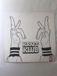 Kraftklub LP vinyl Mit K neuwertig