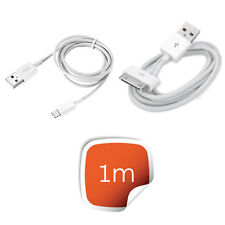 1m USB Charger Cable For Apple iPhone 6 5S 5C 5 + 1 m For 4 4s Charging Lead