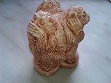 Three monkeys in a single statuette. Table figure monkeys