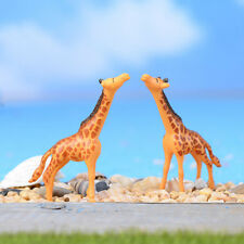 1X 5cm Giraffe Miniature Ornament Home Decor Garden Figurine Bonsai Statue CuZO