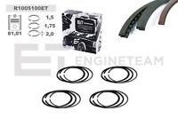 4x Piston Rings Set R1005100 VW Skoda Audi Seat 1,8 T Adr Aeb Agu 058198151b