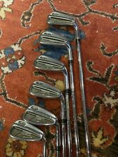 Titleist Ap2 Forged Iron Set 6-w S-300 Shafts Great Shape New Golf Pride Grip